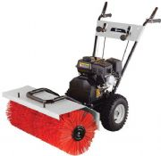 Lumag KM800 800mm / 80cm 3 in 1 Petrol 196cc Loncin Powered Road Brush / Yard Sweeper